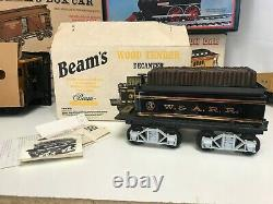 Vintage Jim Beam The General Locomotive Decanter Train Set 8pc with 8 Tracks