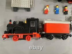 Vintage LEGO 7722 Steam Cargo Train Railway Set No Track