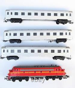 Vintage Large Set HO Piko Mav M61 001 DIESEL LOCOMOTIVE Train 3 Coach 42 Tracks