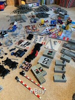 Vintage Lego 12V Railway bundle Trains, Track, Models, Points Original
