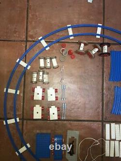 Vintage Lego 1970s 4.5v Train Set bundle Track Carriage Engine Battery Bundle
