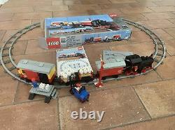 Vintage Lego 7722 Steam Cargo Train with Track Box + Instructions Near Complete
