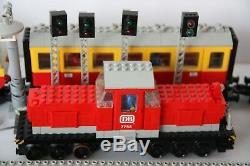 Vintage Lego Train Sets 7740, 7755, 7834, 7857, 7858, 7859, 7860, 7867 80 tracks