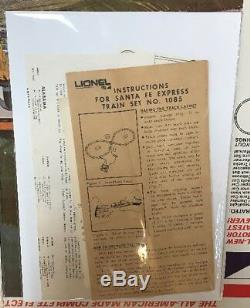 Vintage Lionel Santa Fe Twin Diesel Train Set COMPLETE W TRACK & Original box