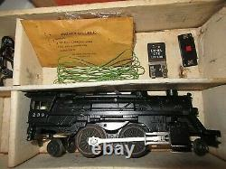Vintage Lionel Train Set #19345 Steam Freight #239 with Smoke and track 1964