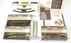 Vintage Marklin Train Set 8165 Z Scale Mini Club with Extra Track 8500 8565 8566