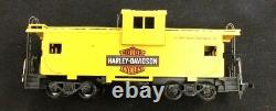 Vintage RARE HARLEY DAVIDSON 1986 HO Train Set Athearn NO TRACKS INCLUDED