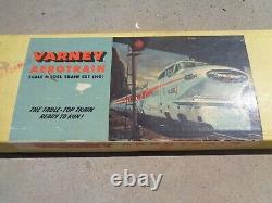 Vintage Varney Aerotrain Scale Model Train Set (HO) with Tracks