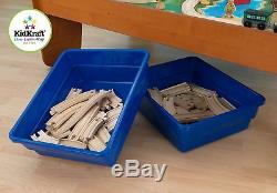 Wooden Table Toy Set Thomas The Train Brio Compatible Kids Small Railway Track
