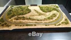 Z Scale Custom Built Tabletop Railroad Layout Model Trainset Micro-Trains Track