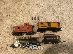 100+ Set Énorme Vintage Toy Train Lot, Jauges Mixte, Pistes Et Beaucoup Plus