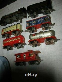 1940 Marx O Gauge Train Aucune Piste Powerpack