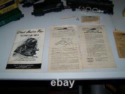 1950s American Flyer Train Set 3/16 Échelle Voitures, Moteur, Avec Boîtes Originales