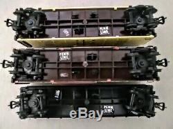 1955 Penn Ligne Allemande Ho Np Freight Train Set Complet Avec Track & # 5505 Air Horn