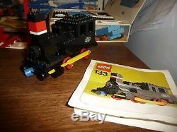 1970 Vintage Boxed Railway Lego -loco / Moteur / Piste / Grue / Wagon Etc