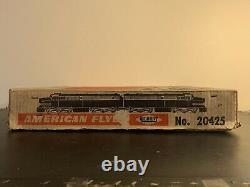 21004 Gilbert American Flyer Train Set 20425 Vache Complète Super Propre Sur La Piste