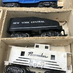 Allstate Marx Ensemble De Sears 60 Train 9624, Locomotive Piste Voitures-untested As-est