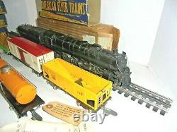 American Flyer O Gauge Northern Locomotive Train Set From 1940 With Tracks Rare