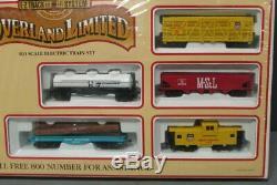 Bachmann 00614 Ho Union Pacific Échelle Overland Limitée Ez Piste Train