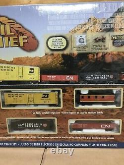 Bachmann # 00706 Ho Échelle Rail Chef De Démarrage Train Neuf Dans La Boîte W Extra Tracks