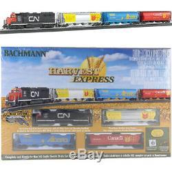 Bachmann 00735 Harvest Express Set Train Électrique Avec E-z Piste Ho
