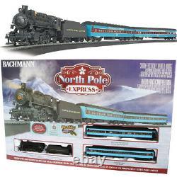 Bachmann 00751 North Pole Expresses Train Électrique Avec E-z Piste Ho