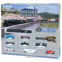 Bachmann 24009 Empire Builder Electric E-z Track Ready To Run Train Set N Scale