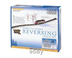Bachmann 44547 Ho Scale E-z Track Nickel Silver Revers System