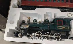 Bachmann Big Hauler 9660 Pennsylvania G Scale Train Définir Les Voies Des Voitures Voie