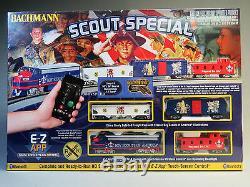 Bachmann Bsa Scout Special Ho Train Set E-z Piste Ez De Commande App 01503 New