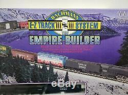 Bachmann Empire Builder Ez Piste Système N Echelle Train Santa Fe 3780 Vgc