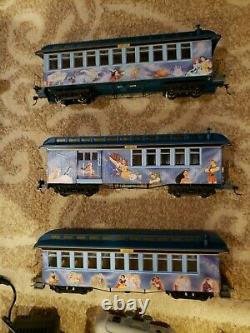 Bachmann Hawthorne Village Magic Of Disney Train Set 5 Cars Tracks Source D'énergie
