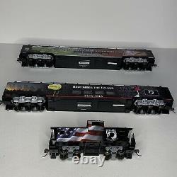 Bachmann Ho Hawthorne Village 5 Piece Pow-mia Train Set With Tracks Bundle