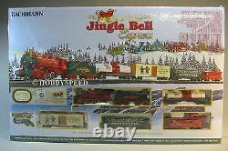 Bachmann Ho Jingle Bell Express Set Train Train Ez Train Moteur Fret 00724