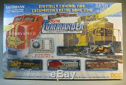 Bachmann Ho Santa Fe Numérique Commandant Diesel Train DCC Gauge Bac00501 Nouveau