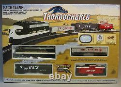 Bachmann Ho Thoroughbred Train Prêt À Exécuter 691 Ns Machine À Vapeur Bac00691 Nouveau