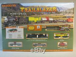 Bachmann N Échelle Trailblazer Set Train De Jauge De Fret Moteur Tendre Vapeur 24024