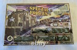 Bachmann Special Forces Train Set Ho Échelle Avec Système De Voie E-z Nouveau En Boîte