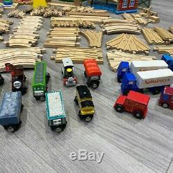 Brio Thomas The Tank Engine Track & Trains En Bois Set Bundle Lot 100+ Pièces Elc