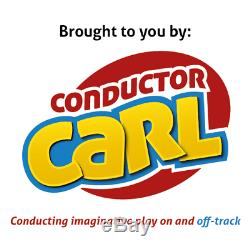Chef D'orchestre Carl Train Électrique Et Piste En Bois Jouets Tableau Thomas Amis Chuggington