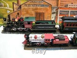 Département Classique 56 O Échelle Narrow Gauge Train Set Fonctionne Sur La Piste Ho