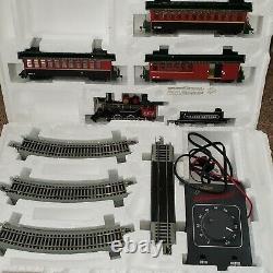 Dept 56 Village Express Electric Train & Track Set As Is (voir Description)