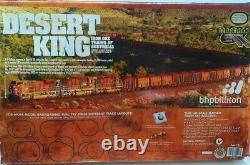 Desert King Bhp Billiton Bachmann Ho Échelle Train Train Jeu Locomotive Voie Boîte