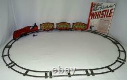 Disney1935lionel Mickey Mouse Circus Train5 Piece Set+track+ex! Tous Originaux