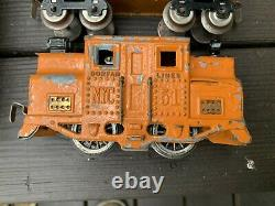 Dorfan Coffret Train Set 225 Passagers Avec # 51 Elec Cab Loco W Tracks