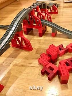 Duplo Thomas Et Ses Amis Gris Piste Bridges Train Énorme Set Lego