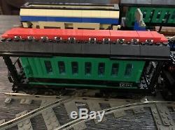 Énorme Lego My Own Train Lot 10205 10013 10014 10015 10016 10017 4515 4520 Piste