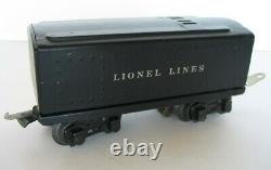 Ensemble Complet Lionel 1664 Locomotive Train Tender 3 Tin Litho Cars Tracks Plus