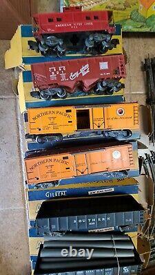 Ensemble De Trains À L'échelle Gilbert American Flyer 3/16, Dont 481 Silver Flash