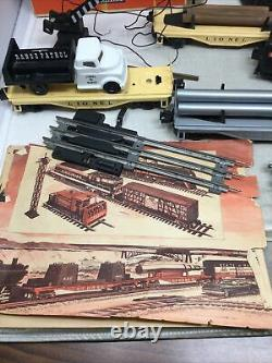 Ensemble De Vapeur Lionel 249 2-4-2 Avec Piste De Boîte Et Ensemble De Train D'après-guerre D'accessoires